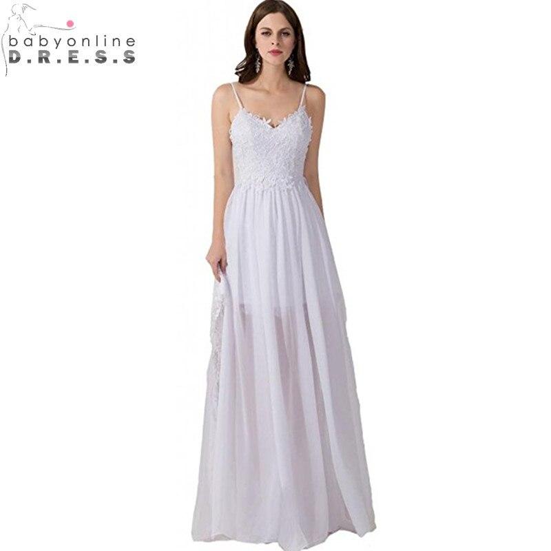 Aliexpress Com Buy Vestido De Noiva 2017 A Line Beach: Aliexpress.com : Buy Vestido De Noiva Casamento Sexy
