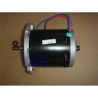 400W 12 24V High Power Four Carbon Brush DC Motor High Torque Power Spindle Motor For Propeller mower