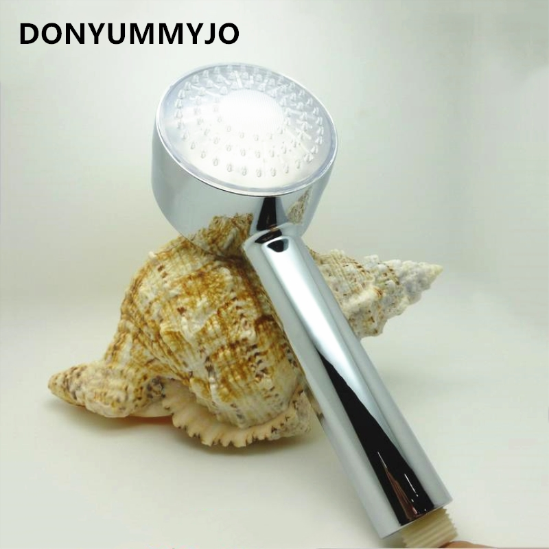 LED Temperature Light Color Discoloration Color Light Color Sprayer Nozzle Three Color Temperature Control Shower Head