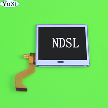 يوشى الأصلي استبدال أعلى شاشة الكريستال السائل ل NDSL شاشة Pantalla لنينتندو DS لايت NDSL اكسسوارات لعبة