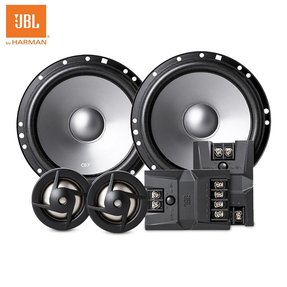 JBL CS760C Professional Car Speaker 6.5 inch Coaxial Speaker Two-way Tweeter Woofer 50 - 15W Audio Speakers for car стоимость