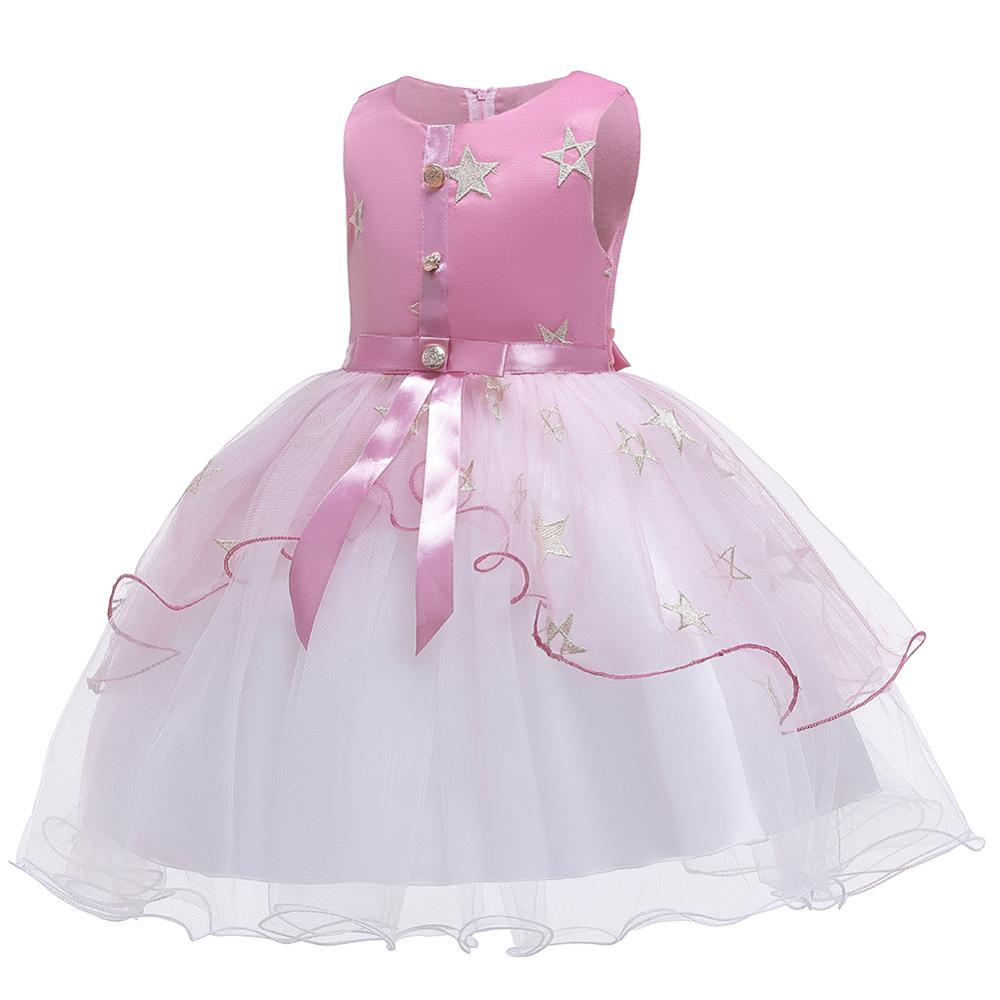 Summer   Flower     Girls     Dress   For Wedding and Party   Dress   Elegant Toddler Children Princess   Dress   Kids   Dresses   For   Girls   Costume
