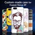 Para huawei nexus 6 p honor 8 v9 p9 mais mate 9 pro case, 3d feito sob encomenda dos desenhos animados pintado tampa traseira case para huawei honor8 Mate9