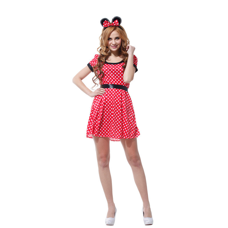 6b1a826104258 Adult Cute Cartoon Outfit Nifty Minnie Mouse Christmas Cosplay Halloween DS  Nightclub Costume Japanese Anime Xmas Dress on Aliexpress.com | Alibaba  Group