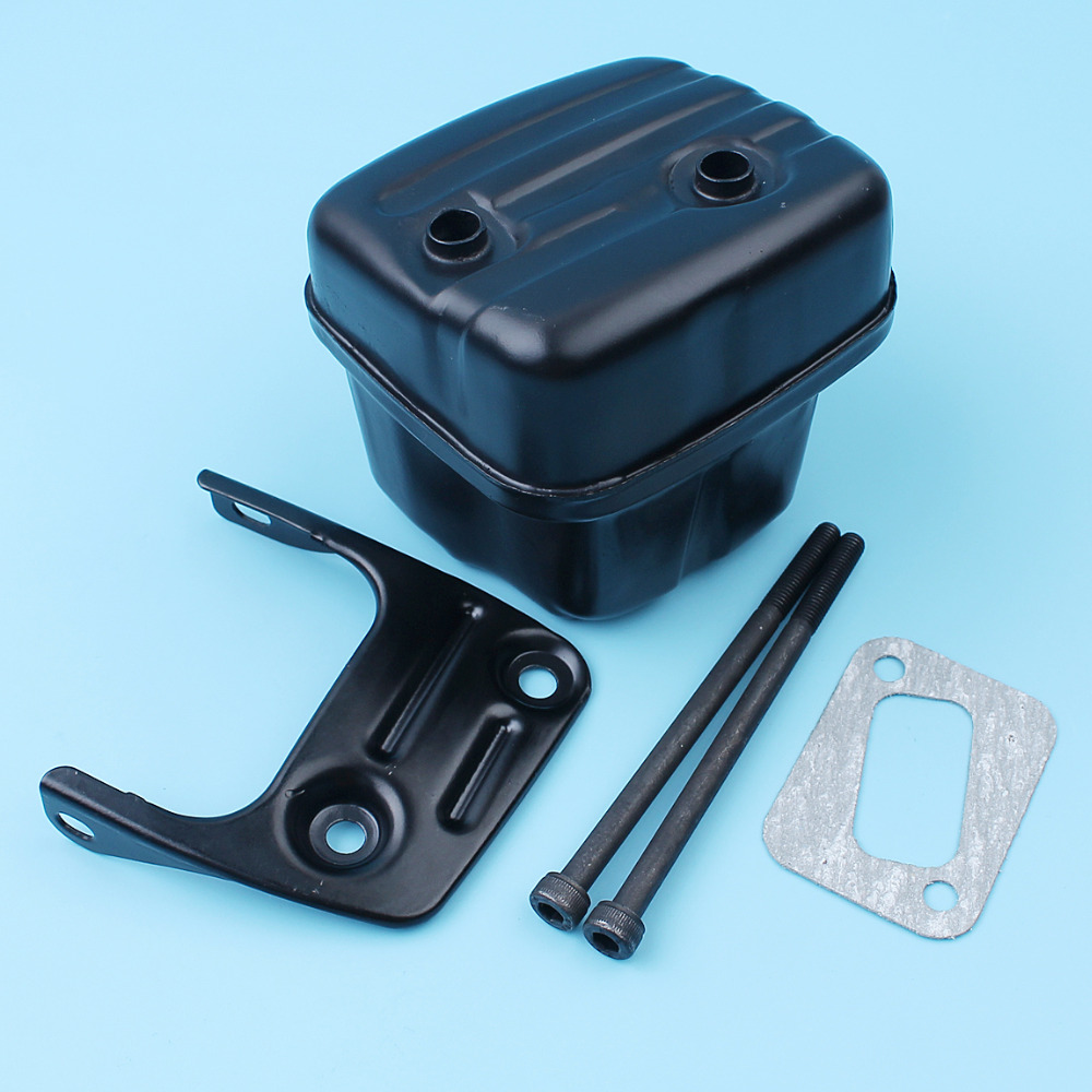 Muffler Exhaust Silencer Bracket Screw Gasket Kit For Jonsered CS 2141 2145 2147 2149 2150 2152 2153 EPA Chain Saw # 544028301