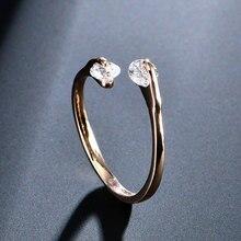 AAA Zircon Wedding Rings for Women