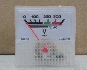 Free Shipping! AC Voltmeter 91L16-300V 40 * 40