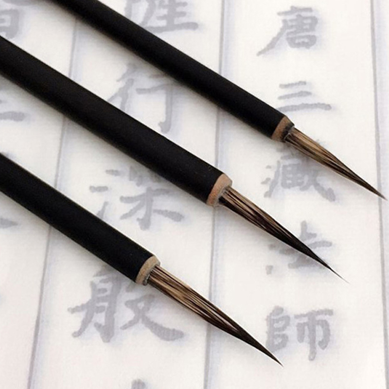 Ink Brush Pen For Watercolor Painting Chinese Drawing Badger Hair Art Craft