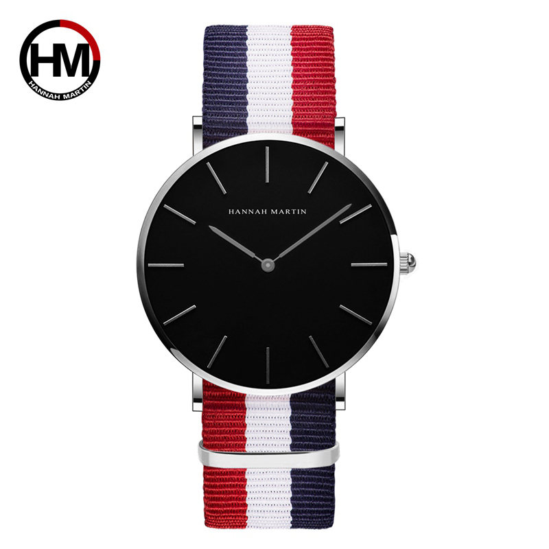 Couple Watch For Men Women Luxury Brand Japan Quartz Lovers Wristwatches For Girl Boy Nylon Female Male Clock Relogio Feminino