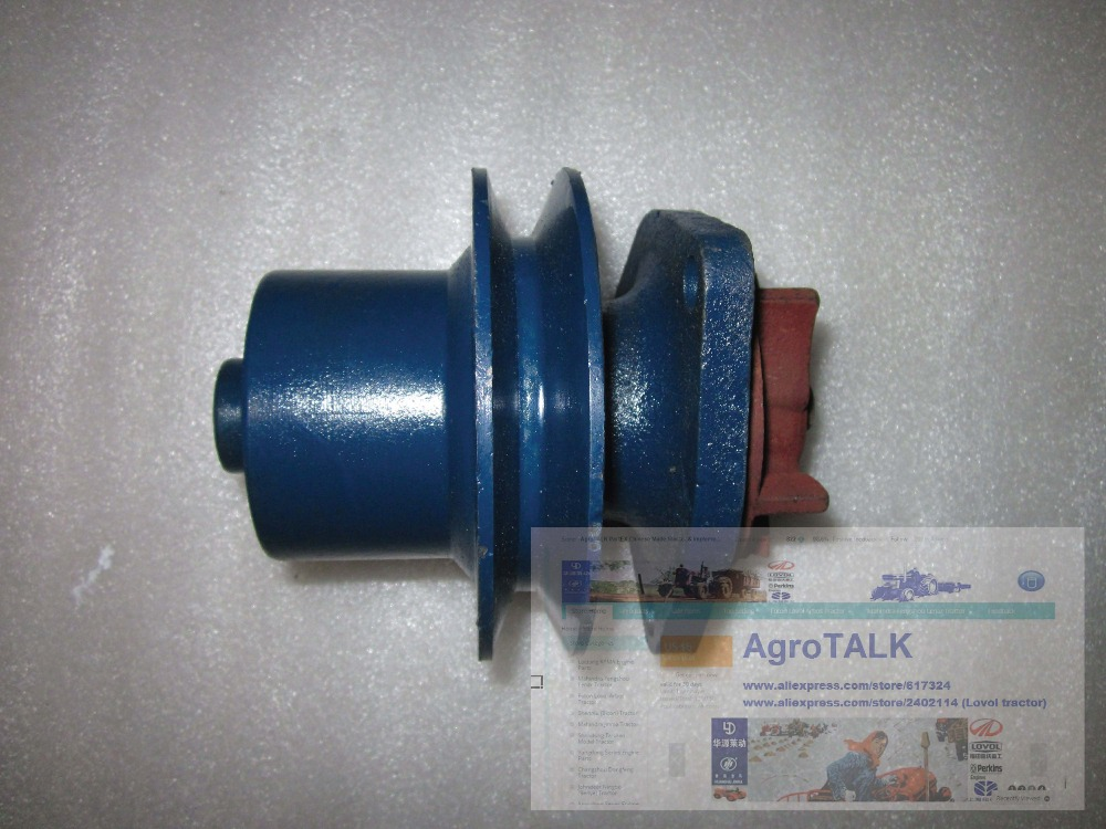 Shanghai 4100 4102 parts, the water pump head, for Newholland tractor 504-704 kubota engine parts the water pump for tractor or forklift use reference 119356 115858