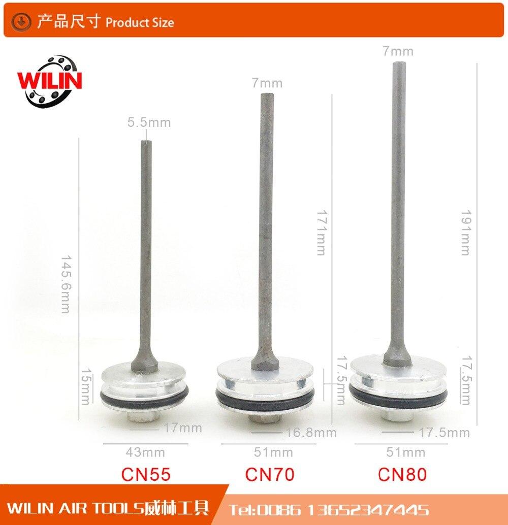 Livraison gratuite Reilyn Piston CN70 Accessoire pour nail gun pièces pour Cn80 Cloueuse pour Max B Pin Manufactery Directe en gros