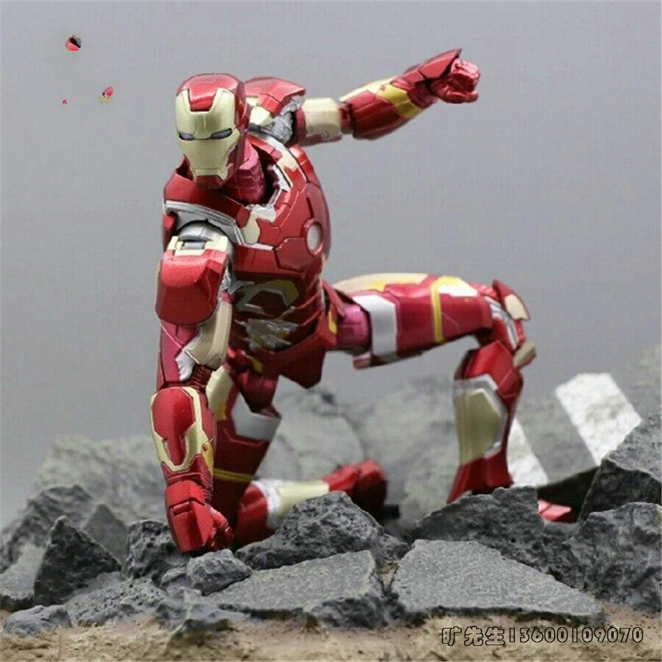 Super héros Marvel Avengers 4 Tony Stark Iron Man SHF MK50 figurine jouet PVC à collectionner modèle poupée pour enfants enfant cadeau