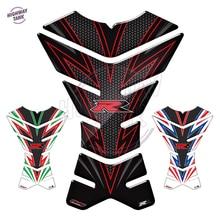 3D защитная накладка на бак мотоцикла Наклейка для мотокросса Tankpad чехол для Kawasaki NINJA Suzuki GSXR Honda CBR BMW Yamaha и т. д