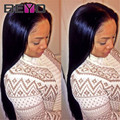 7A Full Lace Human Hair Wigs For Black WomenThick Malaysian Virgin Hair Straight Lace Front Wig 8-30Inch Top Human Hair Wigs