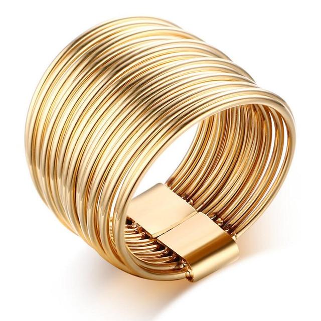 Ouro de Tungstênio Anéis Para Homens Moda Jóias 316L Marca de Aço Inoxidável Anel de Casamento Para As Mulheres bijoux Acessórios Do Partido