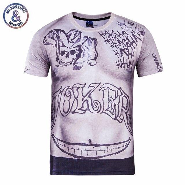 fb29c168d3752 Camiseta de calavera 3D para hombre