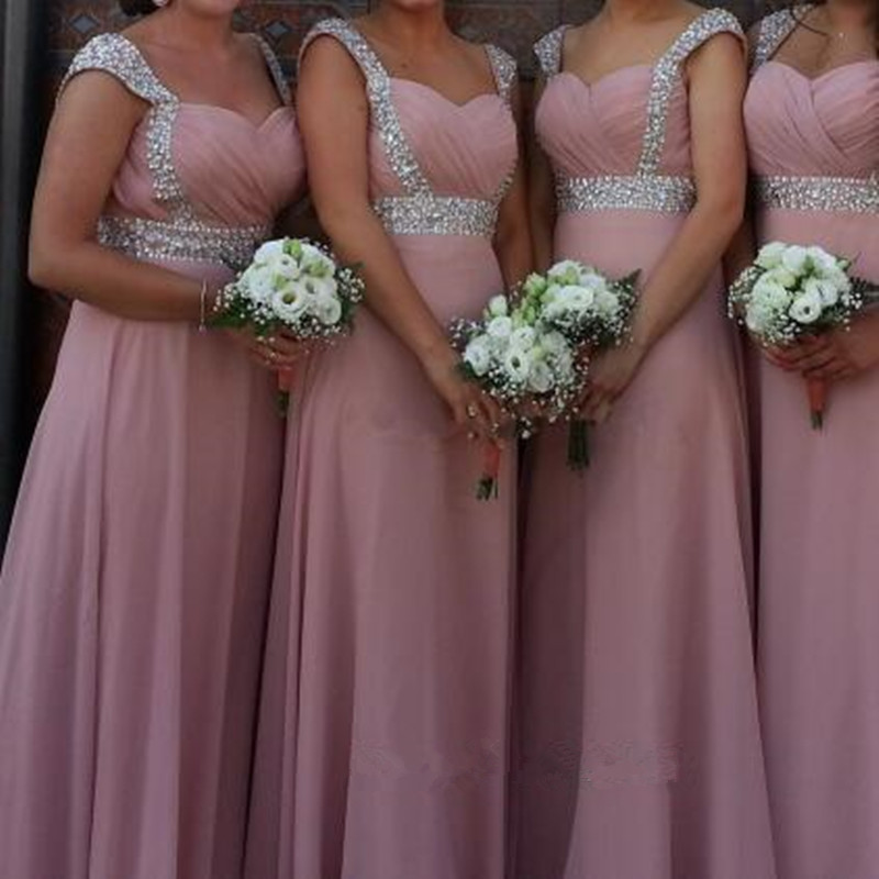 Online Buy Wholesale dusty pink bridesmaid dresses from China ...