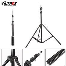 Viltrox 2.2 м (86in) Fold Свет Стенд штатив с 1/4 головки винта для Фотостудия Softbox вспышки видео зонтики отражатель освещения