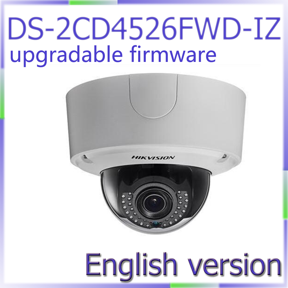 Free shipping English Version DS-2CD4526FWD-IZ 2MP Low Light Smart Camera Support 128G on-board storage cd диск fleetwood mac rumours 2 cd