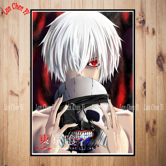 Tokyo Ghoul Coated Paper Poster