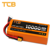 TCB Power 22.2V 6S Lipo Battery 10000mAh 25C XT60 T EC5 XT150 Plug For RC FPV Drone Helicopter Quadcopter UAV Cars Accessories