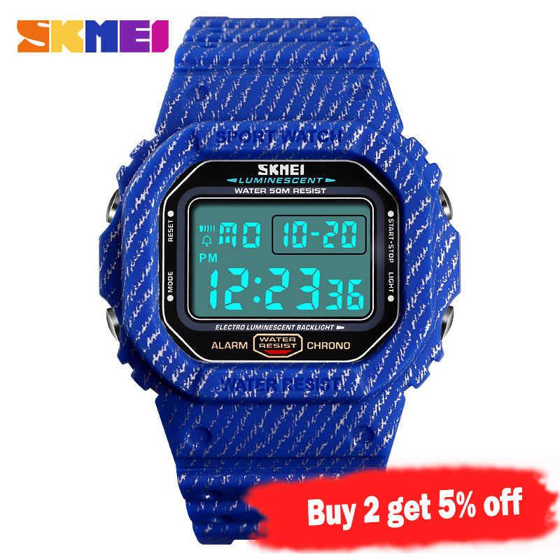 SKMEI Sport montre numérique hommes Date semaine hommes montres étanche antichoc Top marque de luxe montre-bracelet pour hommes reloj hombre 1471