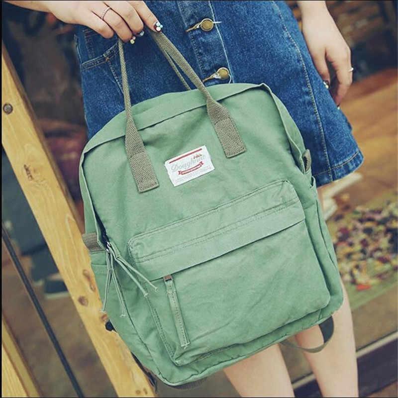2019 женские холщовые рюкзаки, школьные рюкзаки для подростков, для мальчиков и девочек, Повседневная дорожная сумка, модный рюкзак, Япония