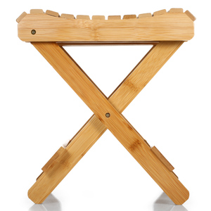 Image 3 - Small Chair Natural Bamboo Folding Chair Folding Stool Mini Chair Portable Chair Collapsible Chaires Folded Seat Small Folding