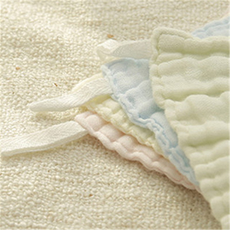 8 Pcs Baby Infant Newborn Kids Bath Towel Washcloth Bathing Feeding Wipe Cloth Soft FT Kit Soft Good Care Colorful Comfortable