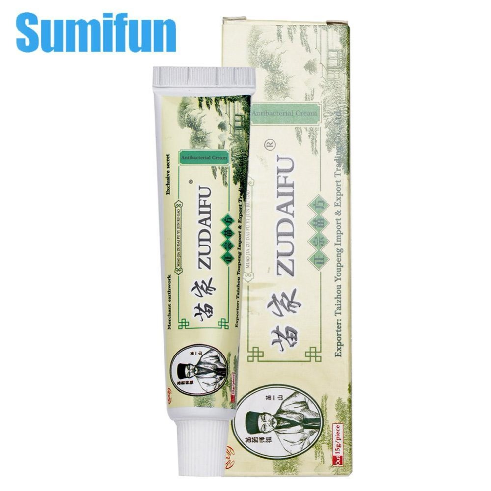 Zudaifu Skin Care Cream Skin Psoriasis Cream Dermatitis Eczematoid Eczema Ointment Treatment Psoriasis Cream(China)