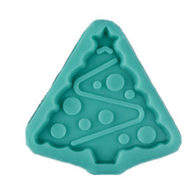 New 3D Silicone Creative Christmas Tree Mold DIY Chocolate Cake Decorating Tools Mould Arts Baking Tools creative diy silicone mold cake baking chocolate mould cake mold diy plastic candy sugar paste mold cake decorating baking tool