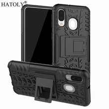 For Samsung Galaxy A40 Case Shell Hard Rubber Silicone PC Cover for Phone A405F