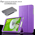 Fashion PU Leather Stand Case Cover For huawei mediapad m1 S8-301W/S8-301U/S8-301L S8-303L/W 8.0 inch tablet pc + Pen
