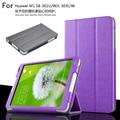 Moda pu couro stand case capa para huawei mediapad m1 s8-301w/s8-301u/s8-301l s8-303l/w 8.0 polegada tablet pc + caneta
