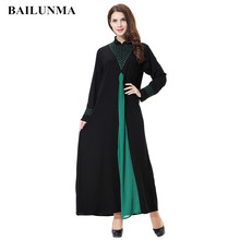 Islam dress robe orientale musulman abaya embroidery islamic clothing for women fashion arabian