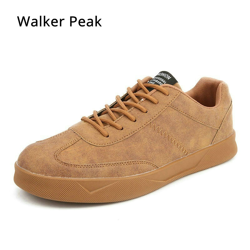 casual shoes for men new Spring Autumn mens flats lace up Sneakers male suede Leather oxfords shoes Big size 39 47 Walker Peak
