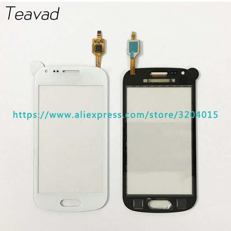 Haute Qualité 4.0 Pour Samsung Galaxy Tendance Duos S7562 S7560 Écran Tactile Digitizer Capteur Verre Externe Objectif Panneau