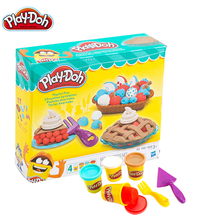 Original Play Doh Colorful Mud Fun Pie Children's Soft  Clay Playa Creative DIY Toys Set Slime Clear Fluffy