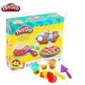 Original Spielen Doh Bunten Schlamm Spaß Pie kinder Weichen Ton Playa Kreative DIY Spielzeug Set Schleim Klar Flauschigen