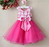 1pcs Sample Retail Baby Girls Party Dress Flower Child Gown Formal Celebration Kids Princess