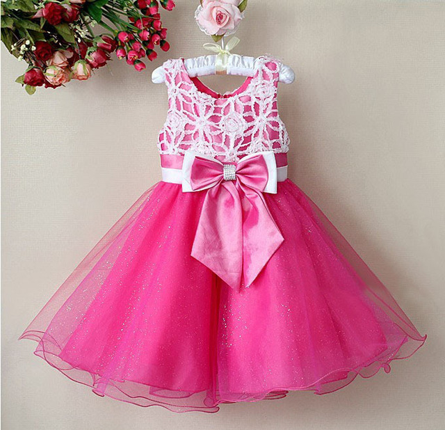 8c9c6cbba Aliexpress.com   Buy 1pcs Sample Retail Baby Girls Party Dress ...