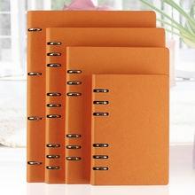 Ruize ноутбук искусственная кожа a5 b5 a6 винтообразный дневник