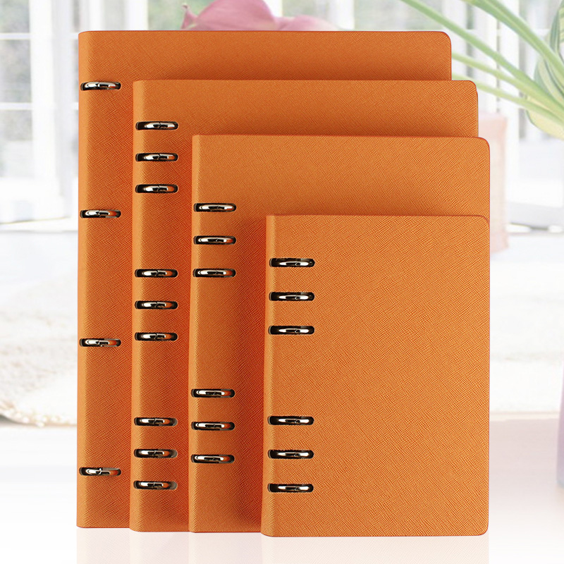 RuiZe faux leather notebook A5 B5 A6 big spiral notebook A4 planner binder daily memos agenda organizer note book office supply купить недорого в Москве