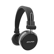 AWEI A700BL Bluetooth Headphones Wireless Stereo Super Deep Wireless Headset Subwoofer With Touch Button PU Earmuffs Headband недорого
