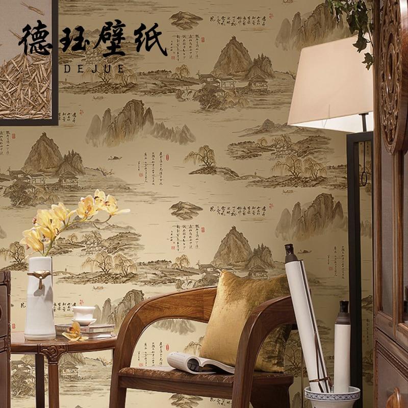Papel pintado estilo oriental affordable mis misuto with for Papel pintado oriental