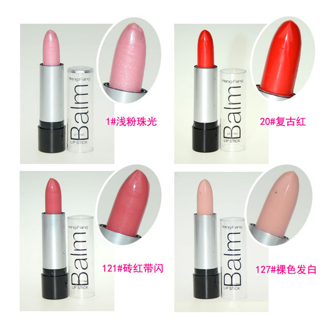 Maquiagem Matte Lipstick Korea Makeup Full Size Baby Pink Lipstick For Women Lips Make Up Health Waterproof Lip Stick Batom 4