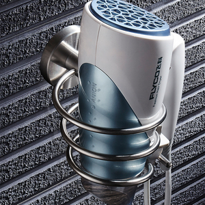 Image 5 - Porte sèche cheveux en acier inoxydable