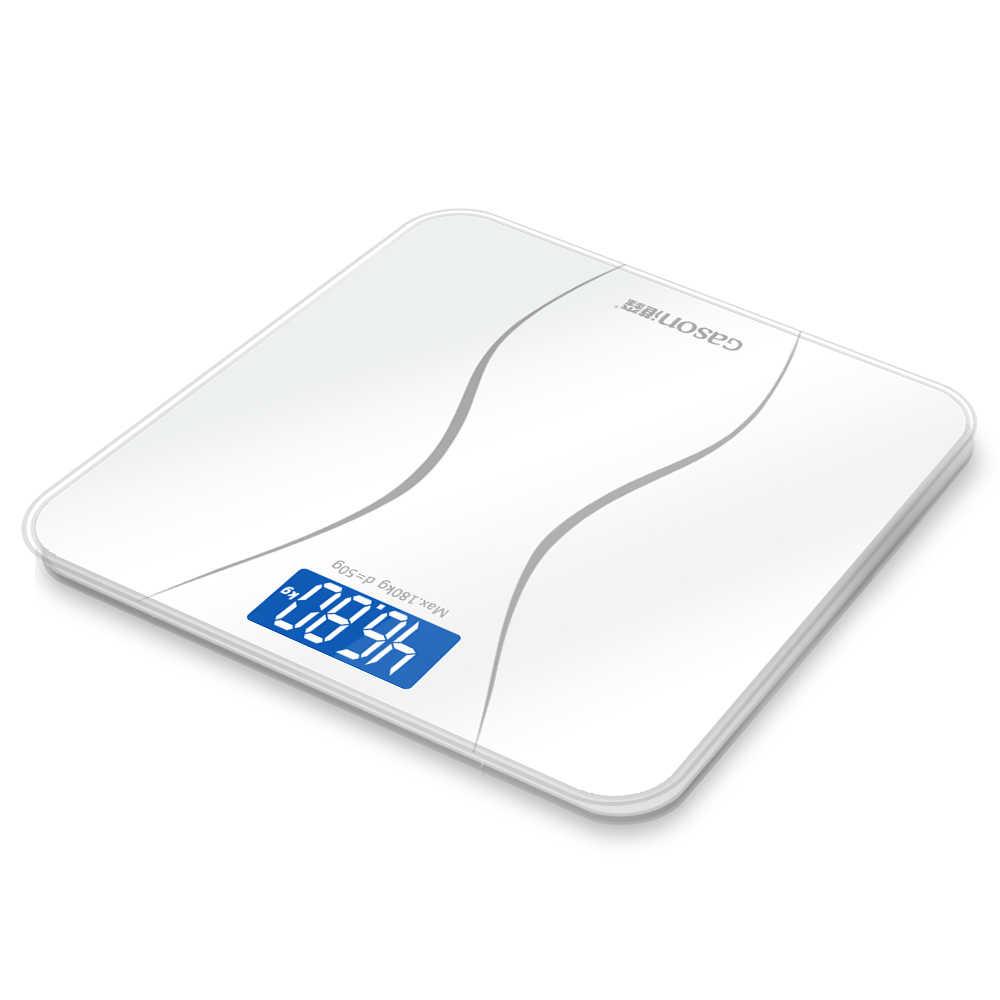 GASON A2 précision salle de bains balances corps intelligent électrique numérique poids maison santé Balance verre trempé affichage LCD 180 kg/50g