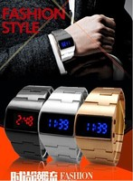 2014 New Fashion LED Sports Watches Men And Women Gift Free Shipping Quartz Watches And Military