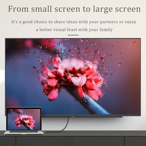 Image 4 - CHOSEAL タイプ C hdmi ケーブル 4K @ 60 60hz の Usb C HDMI ケーブルサンダーボルト 3 Macbook 銀河 s10/S9 Huawei 社メイト 20 P20 プロ